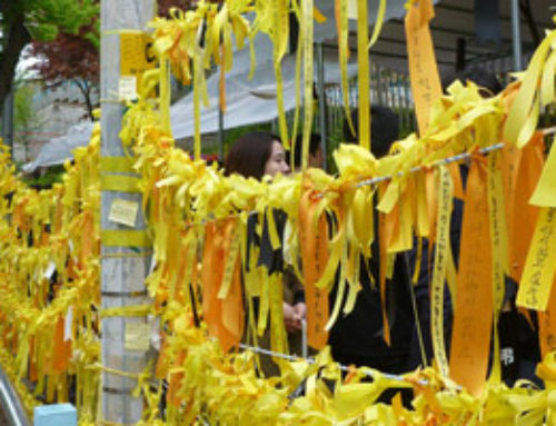 Last Three Weeks in Korea (May 13, 2014) – Korea Still in Mourning (+ Response)
